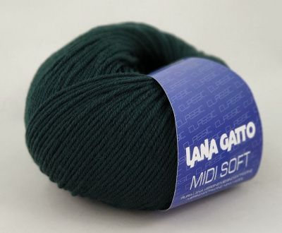 Lana Gatto Midi Soft (8563) 100% меринос экстрафайн 50 г/142 м